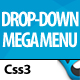 CSS3 Mega Menus - CodeCanyon Item for Sale
