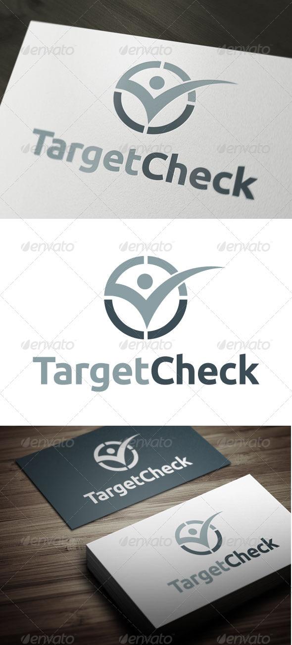 Target Check - Symbols Logo Templates