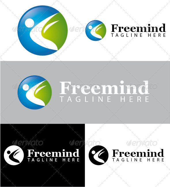 Freemind Logo - Humans Logo Templates