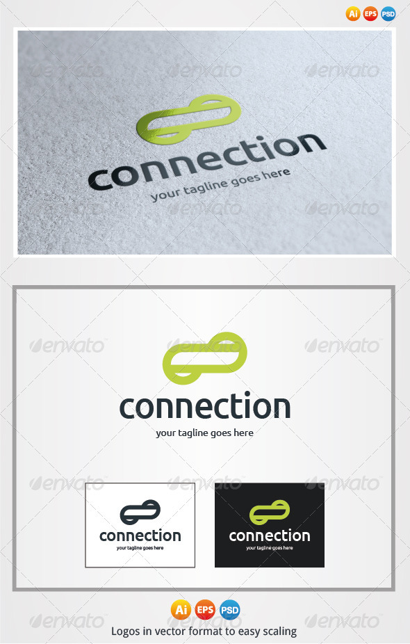 Connection Logo - Symbols Logo Templates