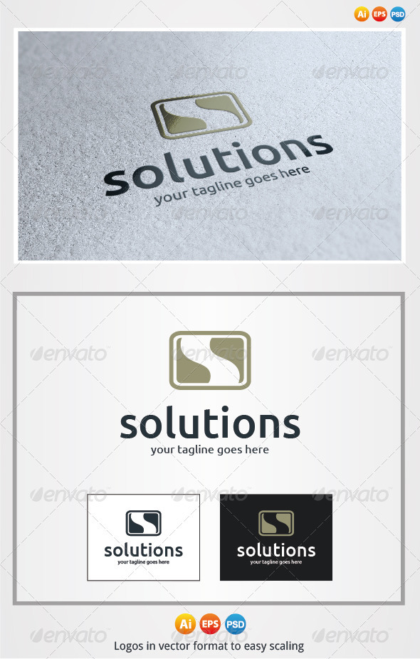 Solutions Logo - Letters Logo Templates