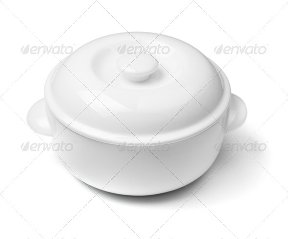 China soup dishware - Stock Photo - Images