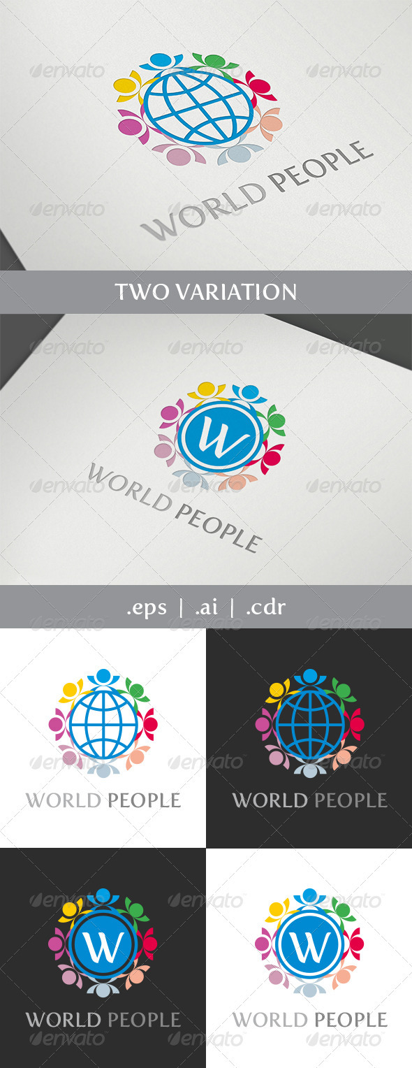 World Social Logo - Symbols Logo Templates