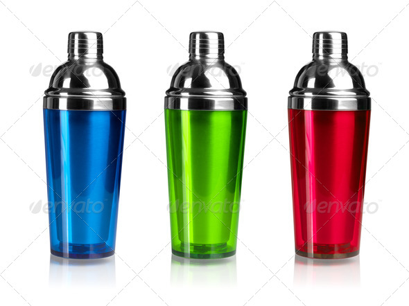 Three color shakers - Stock Photo - Images