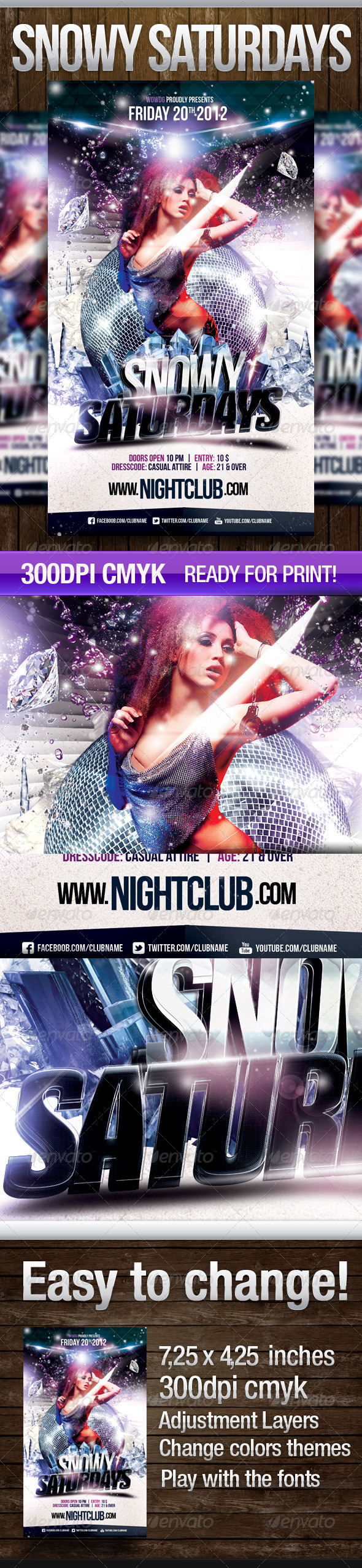Snowy Saturdays - Clubs & Parties Events