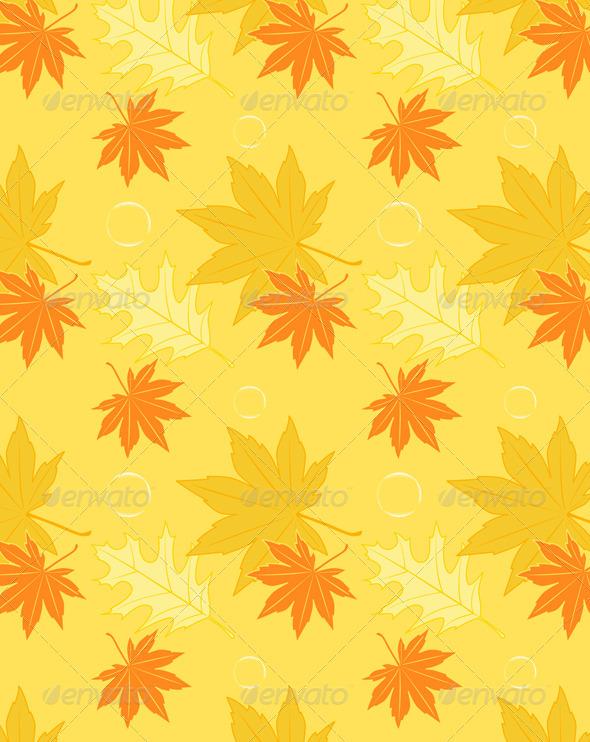 Autumn Seamless Pattern - Patterns Decorative