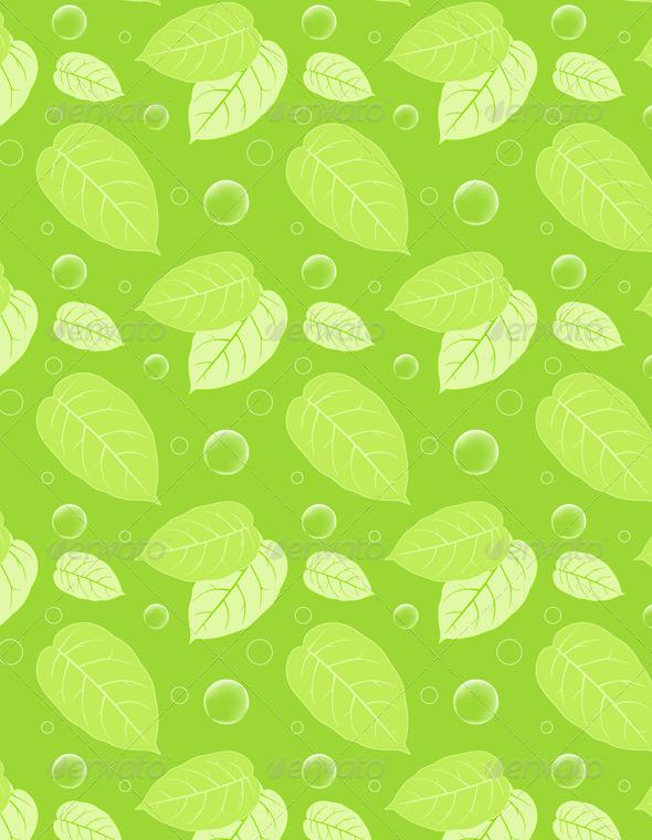 Green Seamless Pattern - Patterns Decorative
