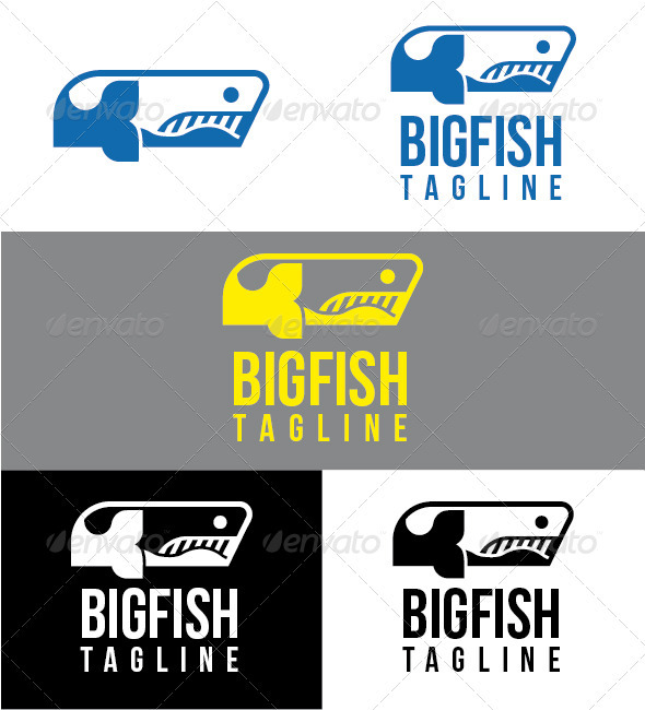 Bigfish Logo - Animals Logo Templates