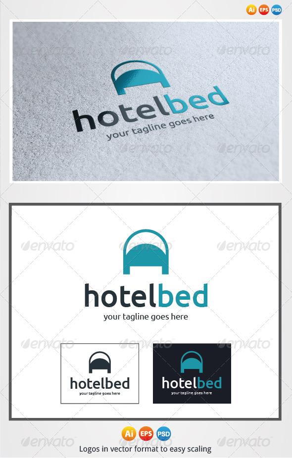 Hotel Bed Logo - Symbols Logo Templates