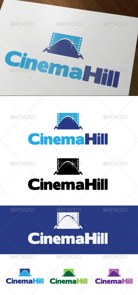 CinemaHill - Symbols Logo Templates