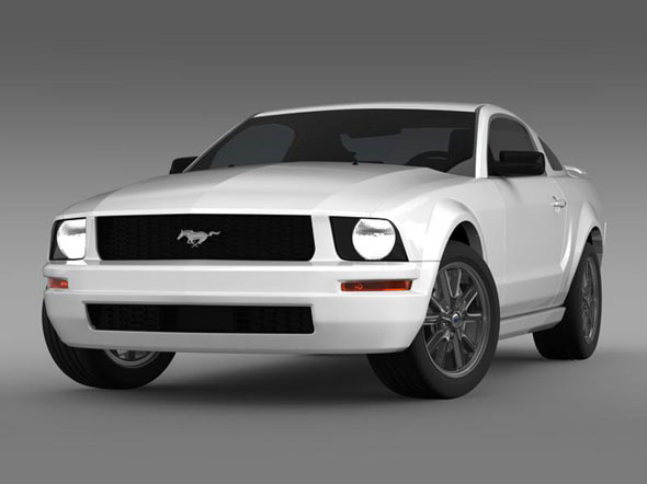 Ford Mustang 2005   - 3DOcean Item for Sale