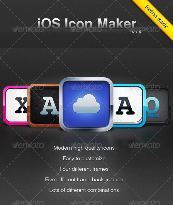 IOS Icon Maker 1 - Software Icons