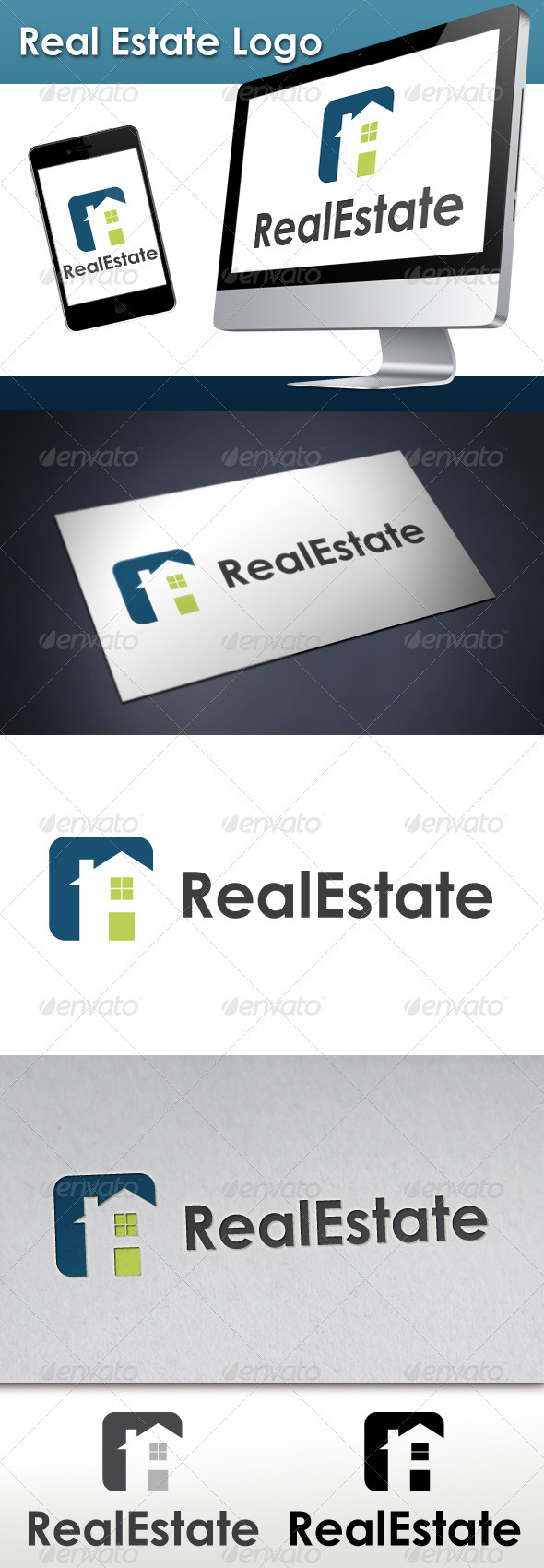 Real Estate Logo 4 - Buildings Logo Templates