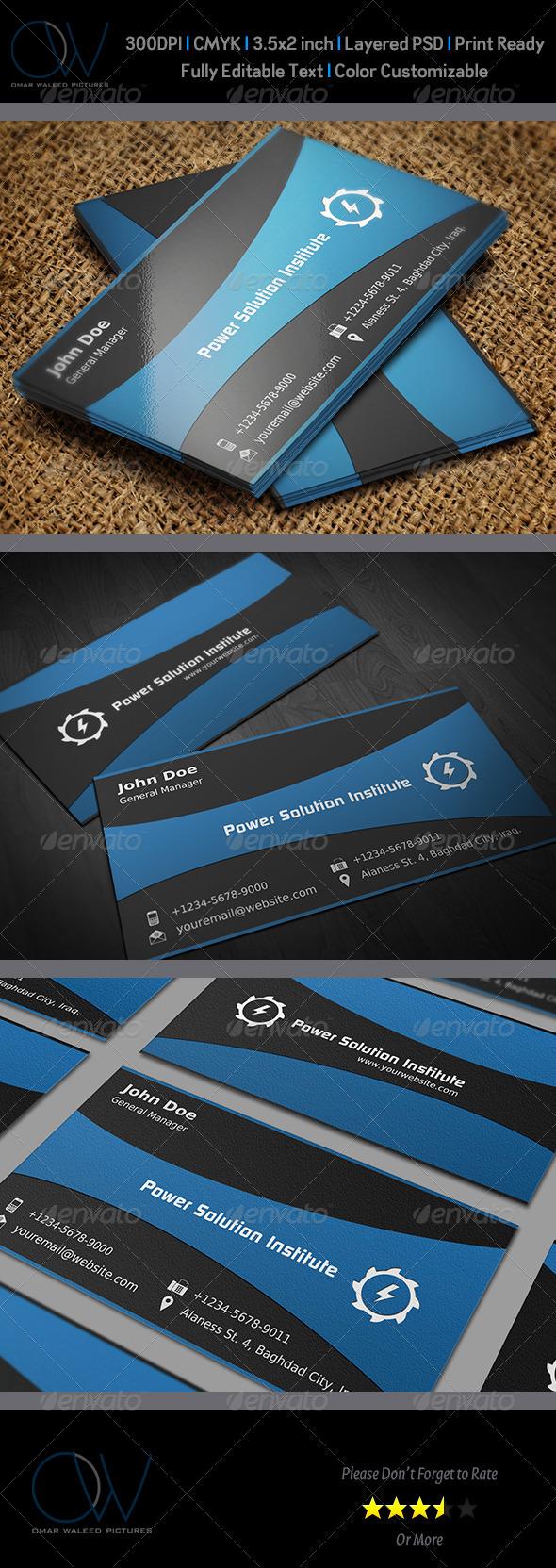 Corporate Business Card Vol.2 - Corporate Business Cards