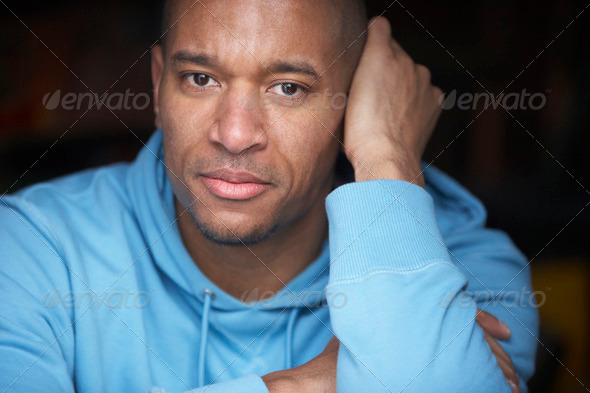 Portrait Of Young Man In Casual Clothing - Stock Photo - Images