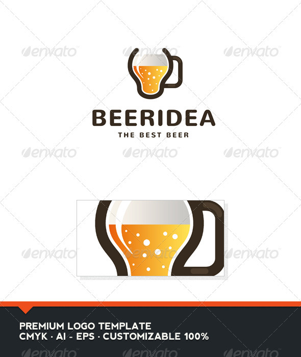 Beer Idea logo Template - Food Logo Templates