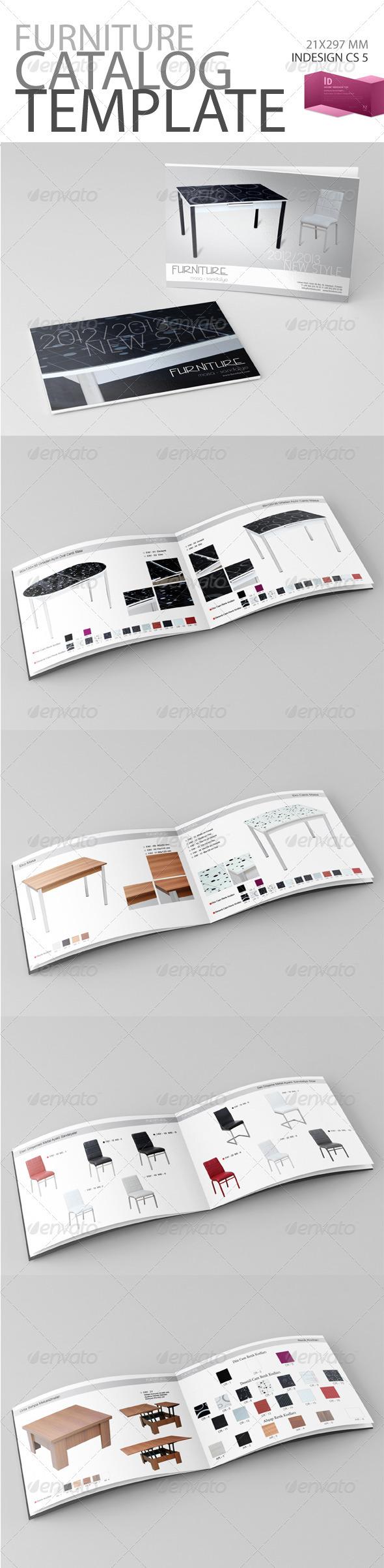 Furniture Catalog Template - Catalogs Brochures