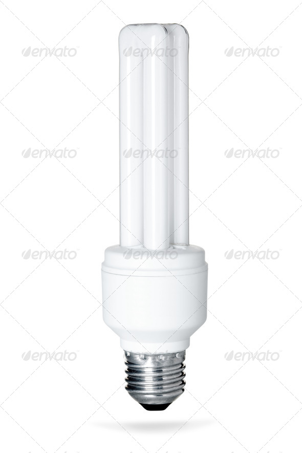 Energy saving lamp - Stock Photo - Images