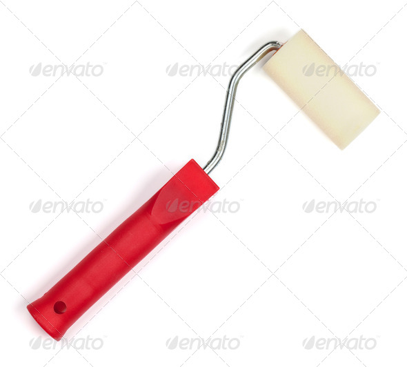Paint roller - Stock Photo - Images