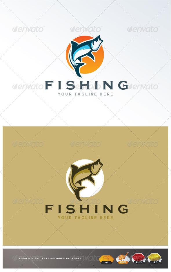 Fishing Logo - Animals Logo Templates