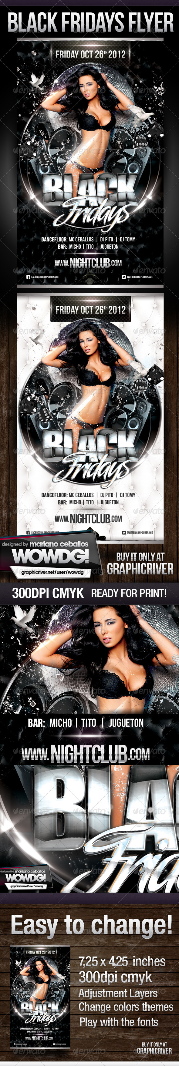 Black Fridays - Clubs & Parties Events