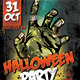 Zombie Halloween Party - GraphicRiver Item for Sale