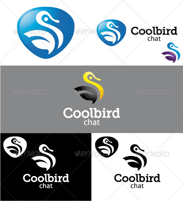 Coolbird Logo - Animals Logo Templates