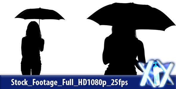 519e9945ba1ef Umbrella Silhouette by XnitroX | VideoHive