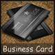 Metal Business Card - GraphicRiver Item for Sale