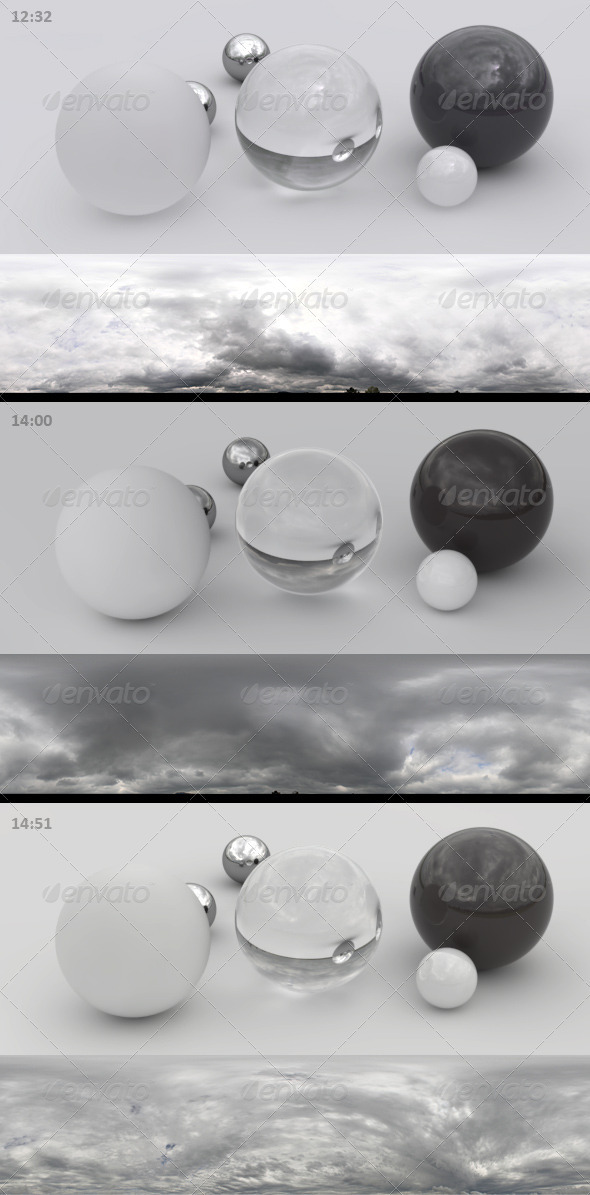 3er HDRI sky pack 02 - bad weather, storm, rain - 3DOcean Item for Sale