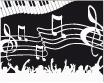 Musical background. Vector illustration. - GraphicRiver Item for Sale