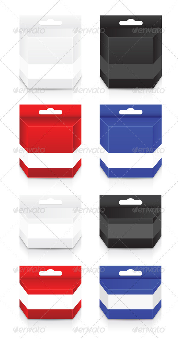 Blank Cartridge Box Template - Miscellaneous Conceptual