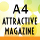 A4 Attractive Magazine - GraphicRiver Item for Sale