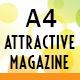 A4 Attractive Magazine - GraphicRiver Item for Sale