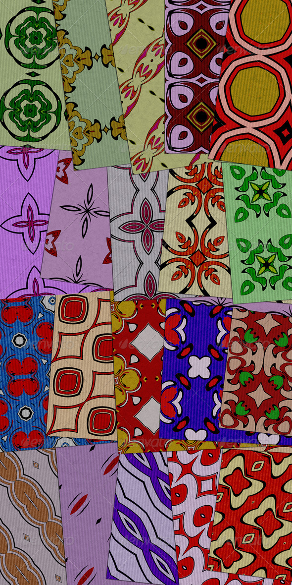 20 Wrapping Papers - Patterns Backgrounds