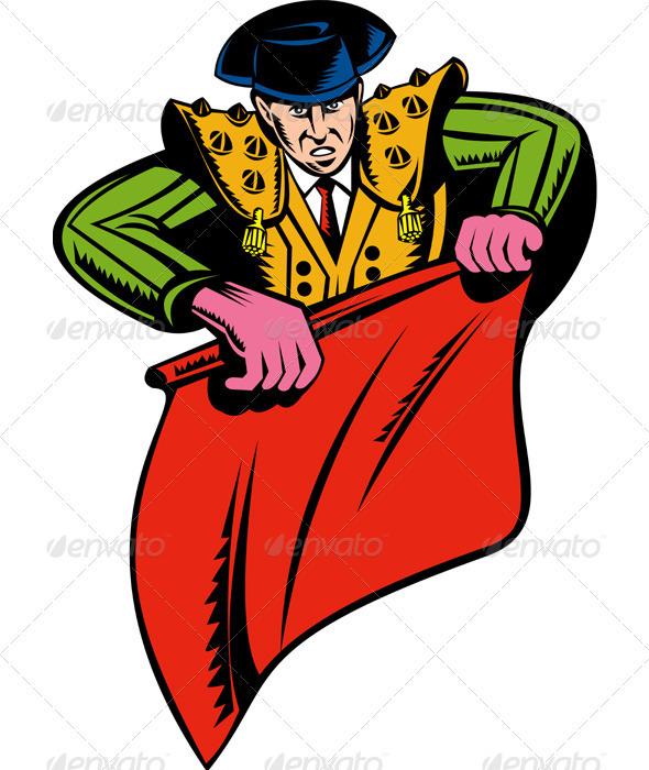Bullfighter Matador Bullfighting - People Characters