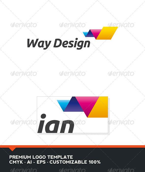 Way Design Logo Template - Abstract Logo Templates