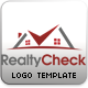 Realty Check Logo Template - GraphicRiver Item for Sale
