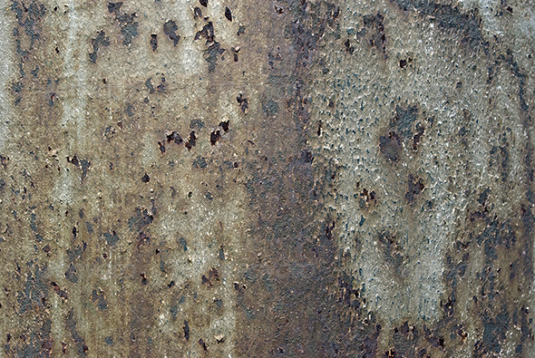 Dirty Old Rusty Background of Iron - Metal Textures