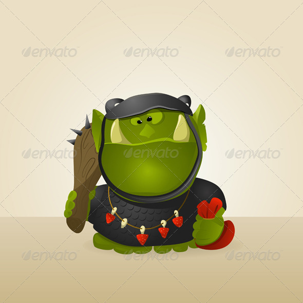 Orc warrior  - Characters Vectors