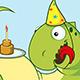 Dragon Celebrates Birthday - GraphicRiver Item for Sale