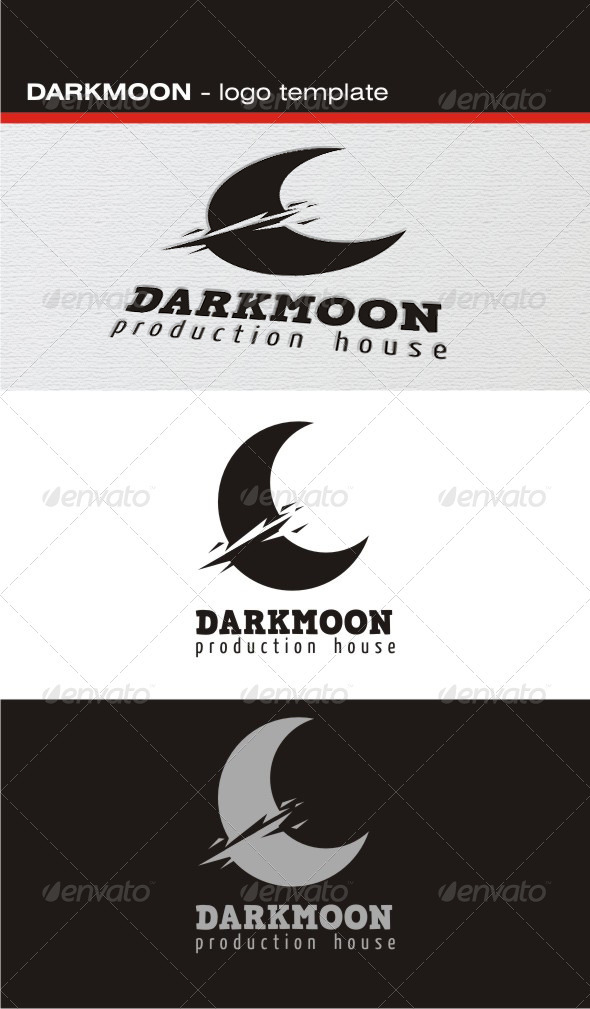 Darkmoon Logo - Nature Logo Templates