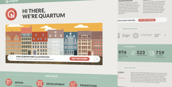 Quartum Site Template