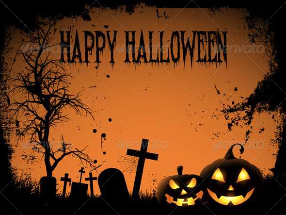 Happy Halloween background - Halloween Seasons/Holidays