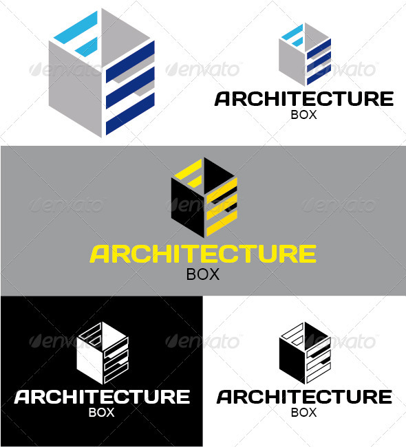 Architecture Box Logo - Symbols Logo Templates