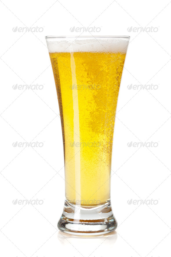 Beer glass - Stock Photo - Images