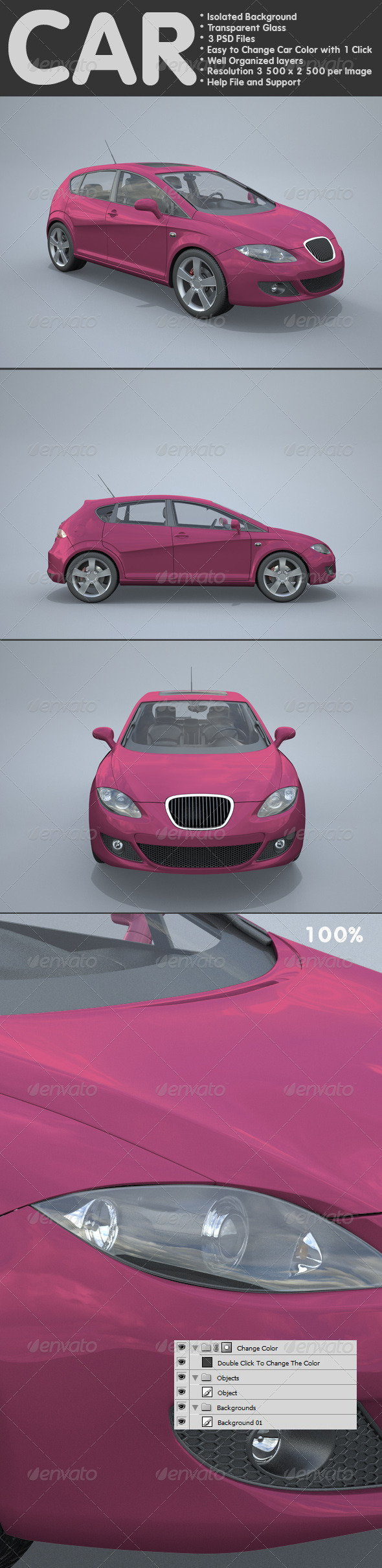 Car - Miscellaneous 3D Renders