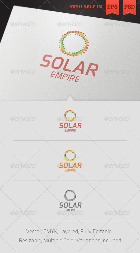 Solar Empire Logo Template - Abstract Logo Templates