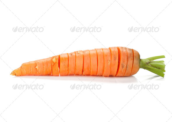 Sliced carrot - Stock Photo - Images