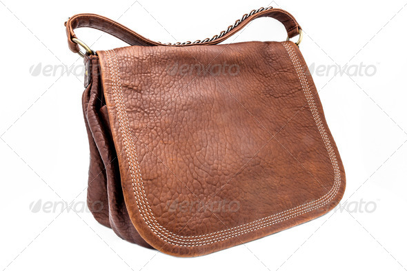 Leathern handbag - Stock Photo - Images